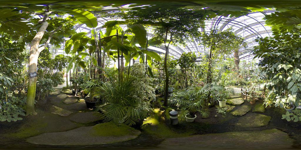 Greenhouse In Tsutsujigaoka Park In Gunma Ken Parco