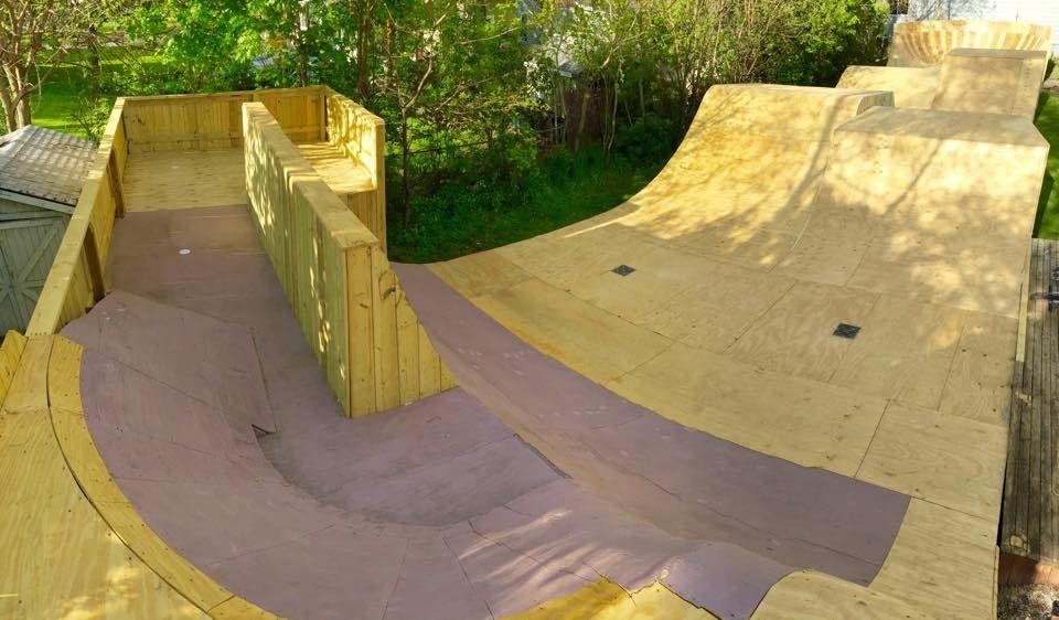 Image result for backyard skatepark