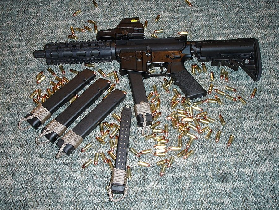 Please list 9mm Ars that take Glock mags  - AR15 Com Archive