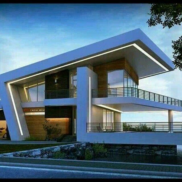 Innovador #diseño de #techos y #fachadas enmarcados por un ...
