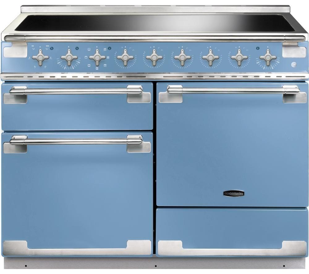RANGEMASTER Elise 110 Electric Induction Range Cooker - China Blue ...