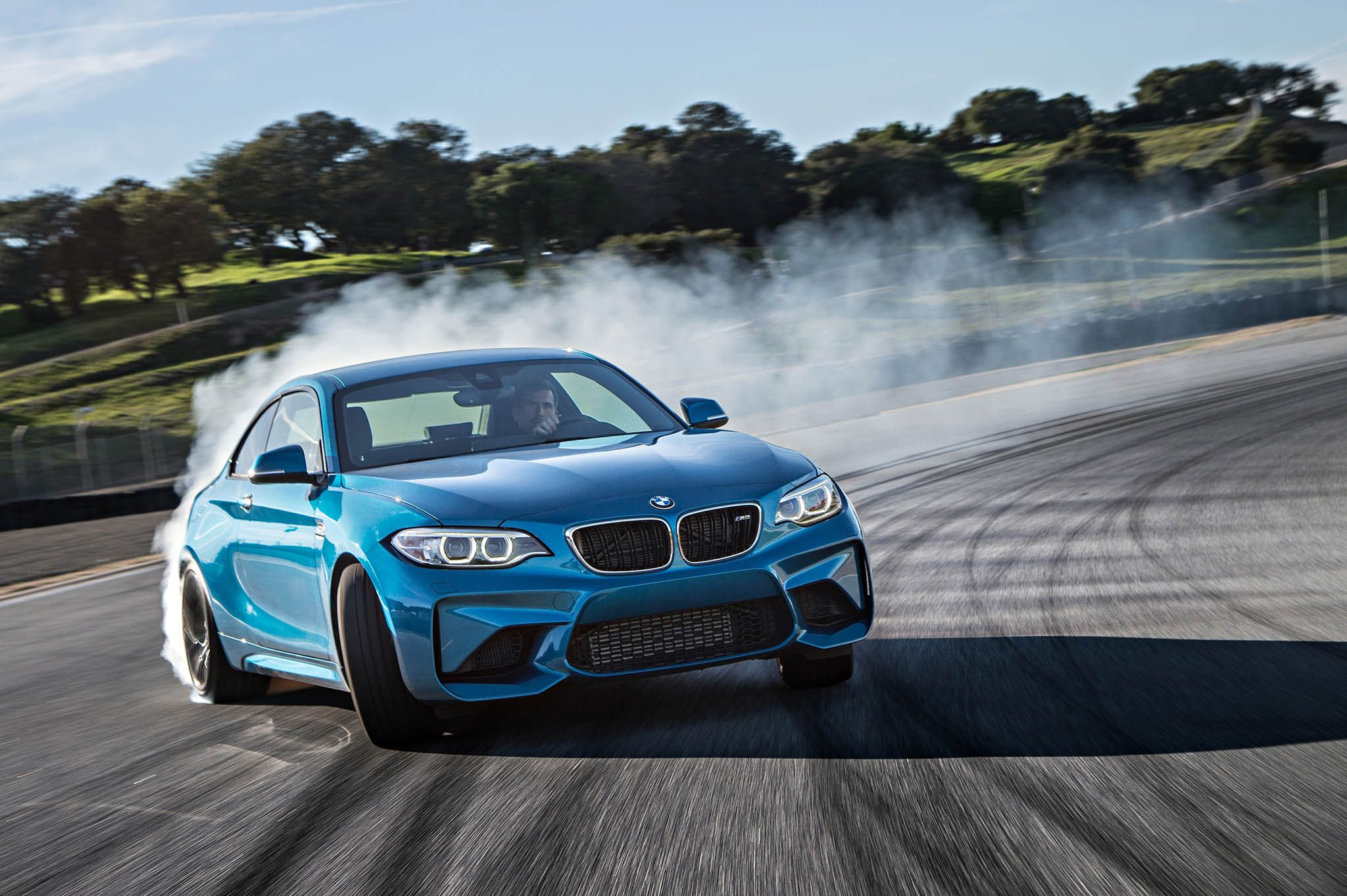 Bmw m2 powerslide bmw cars cool blue