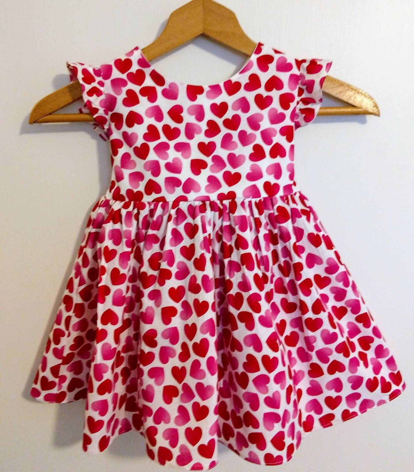 Valentine dress girls valentine dress baby valentine dress  Etsy