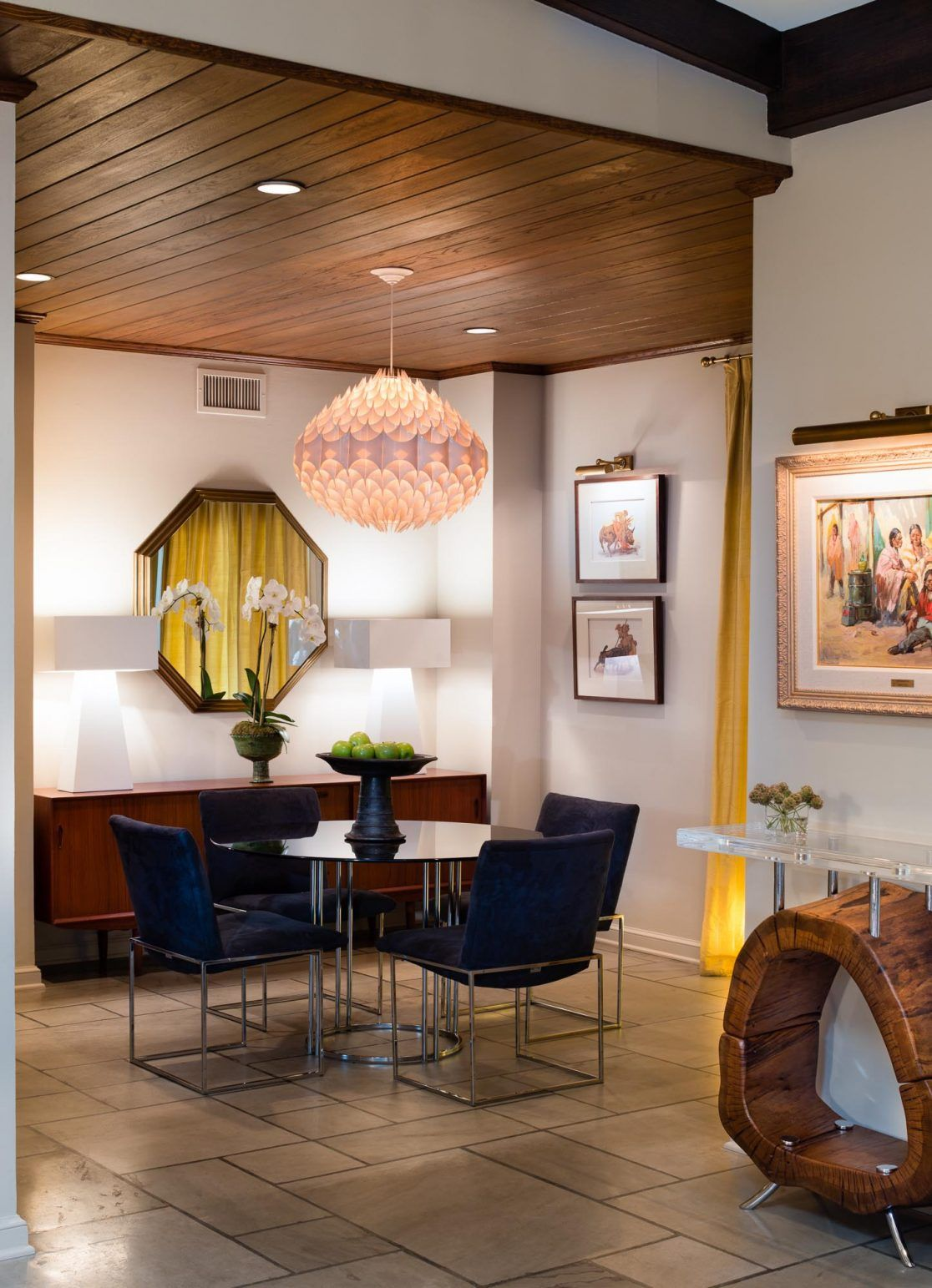 Modern Mix With Images Mid Century Modern Dining Room Eclectic Dining Room Dining Room Design