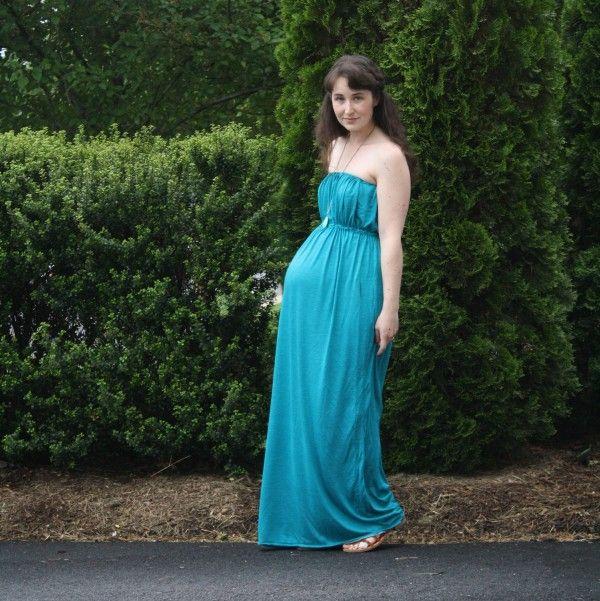 The Grecian Maternity Maxi dress