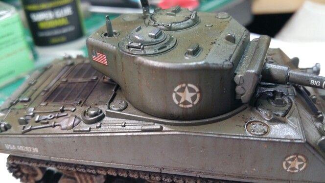 Weathering the Rubicon Model Sherman Tank   Reddragon's Model Werks