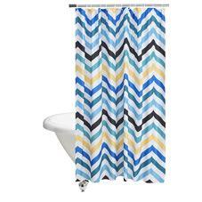 Wilko Horizon Shower Curtain | Stylish shower curtain ...
