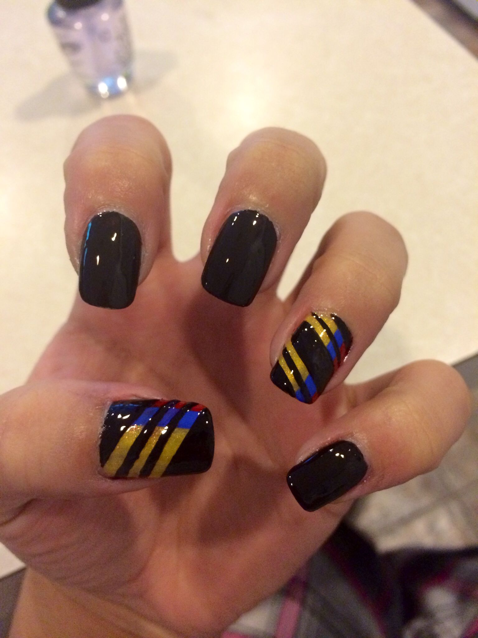 My Colombian Nail Art Nails Pinterest Manicure Makeup And