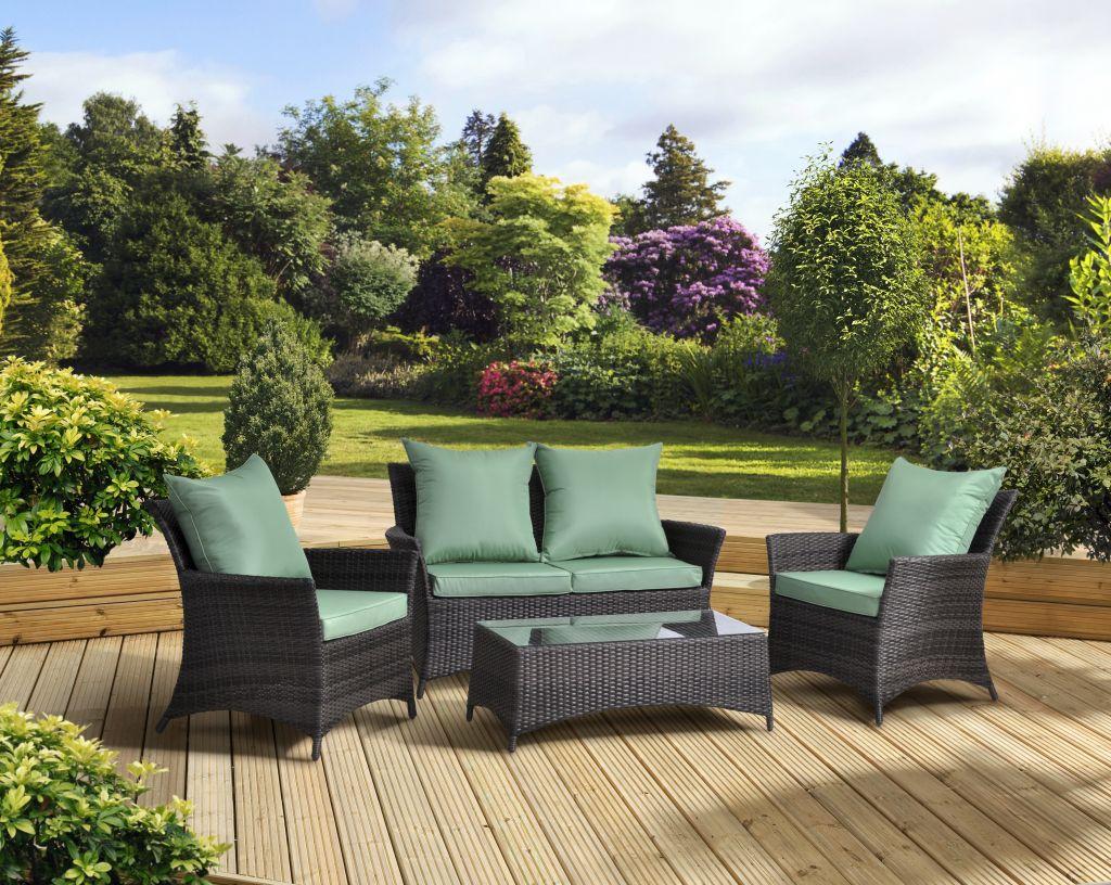 Monte Carlo Rattan Lounge Set (8 Sofa, 8 Chairs, 8 Table