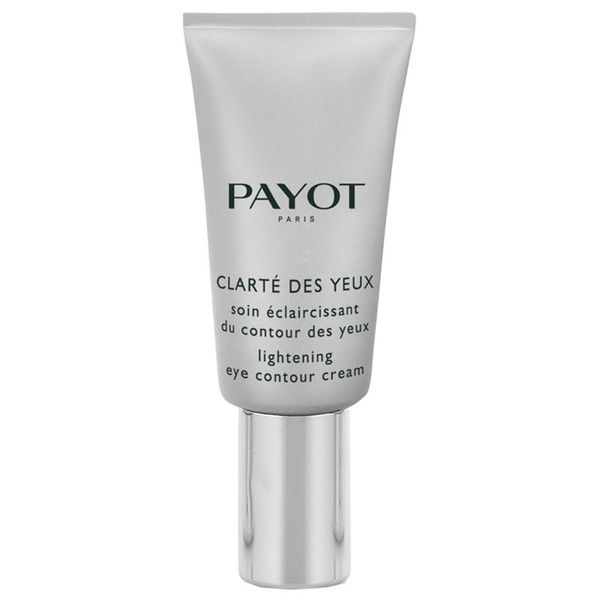 PAYOT Clarte Lightening Eye Contour Cream 15ml ($26) ❤ liked on Polyvore featuring beauty products, skincare, eye care and dark circle eye treatment
