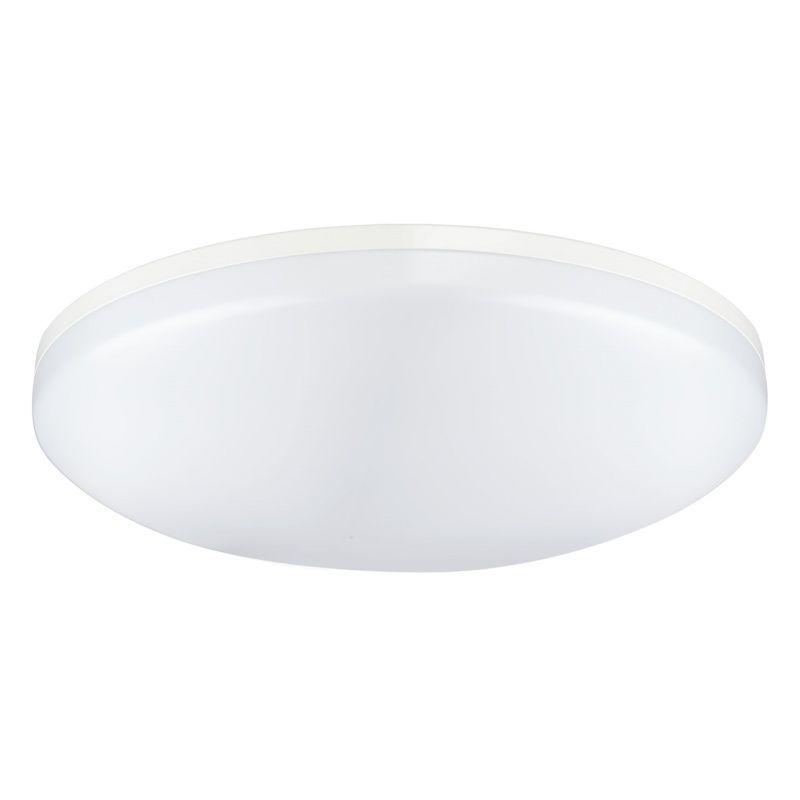 Moderne kompakte LED Deckenlampe in Weiß RegenBogen 660010501