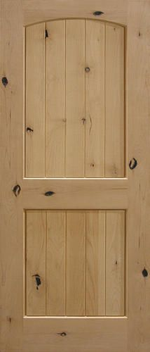 Mastercraft 32 Quot X 80 Quot Knotty Alder Plank Arched Raised 2