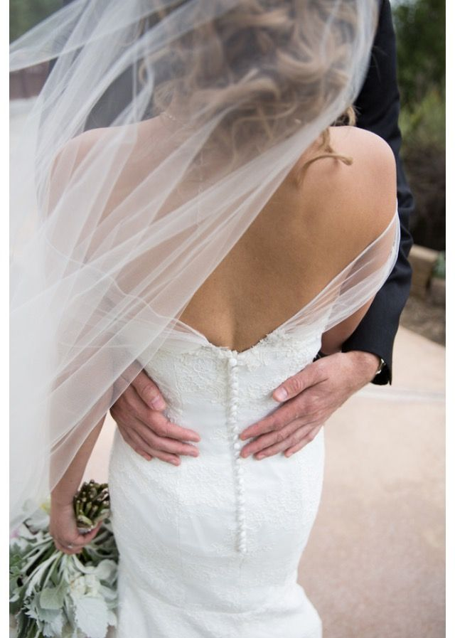 The Cheapest Alternative To Adding Sleeves To A Strapless Wedding