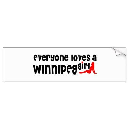 Bumper Stickers Winnipeg