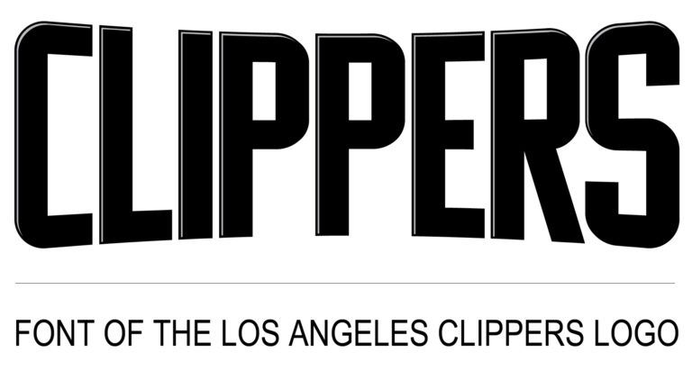 Los Angeles Clippers Logo Font Logos Logo Fonts Los Angeles Clippers