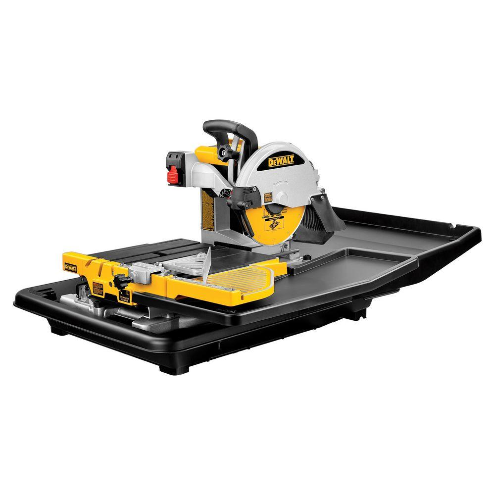 Dewalt 10 In Wet Tile Saw In 2019 Tile Saw Flooring Tools Tools