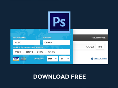 Free Psd Fill Credit Card Online Data Free Credit Card Credit Card Online Credit Card