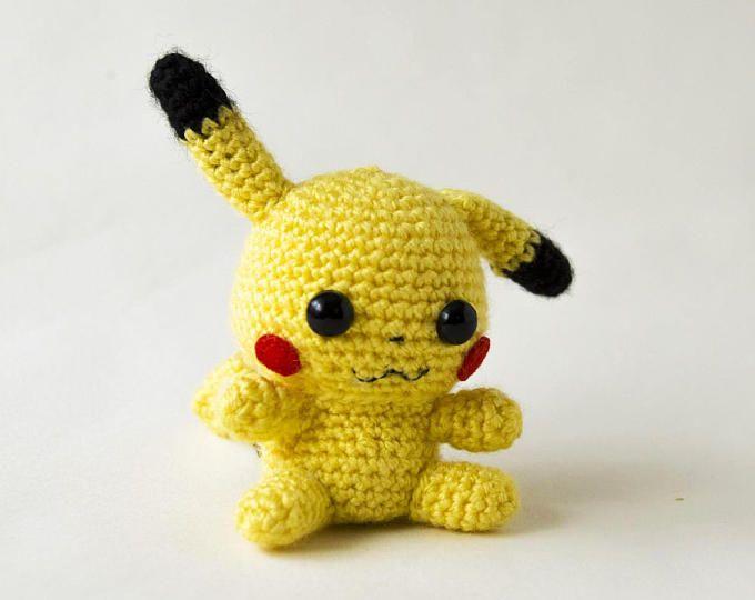 Amigurumi Nintendo : Amigurumi pikachu pikachu crochet pokemon amigurumi nintendo