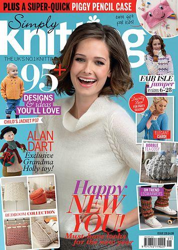 Ravelry: Simply Knitting 128, January 2015