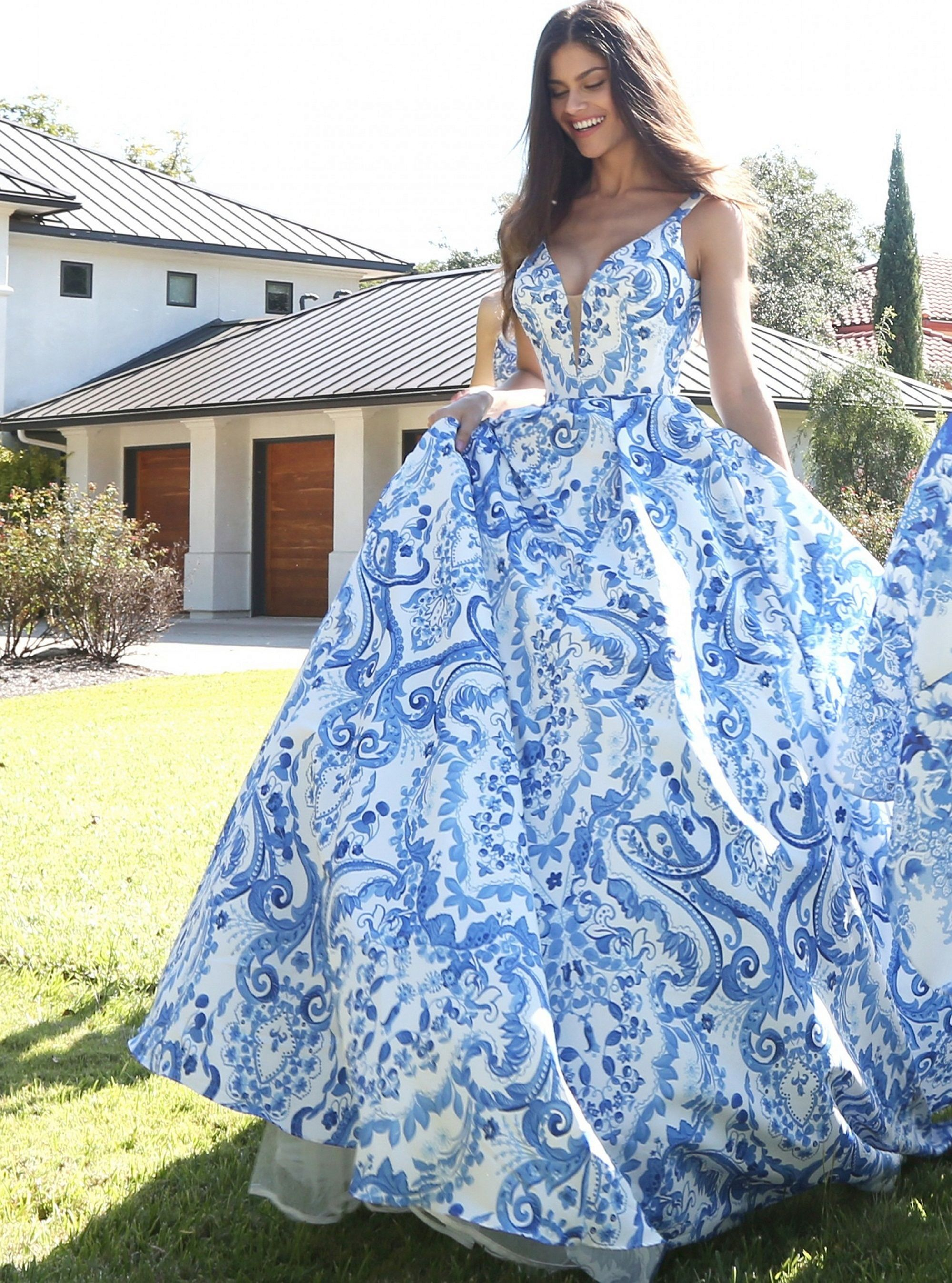 Incredible Wedding Gown Ideas : 35+ Blue Prom Dresses Most ...