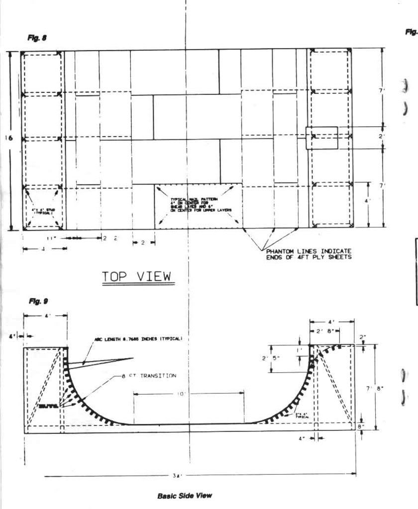 Pin On Free Skateboard Ramp Plans Backyard mini ramp plans