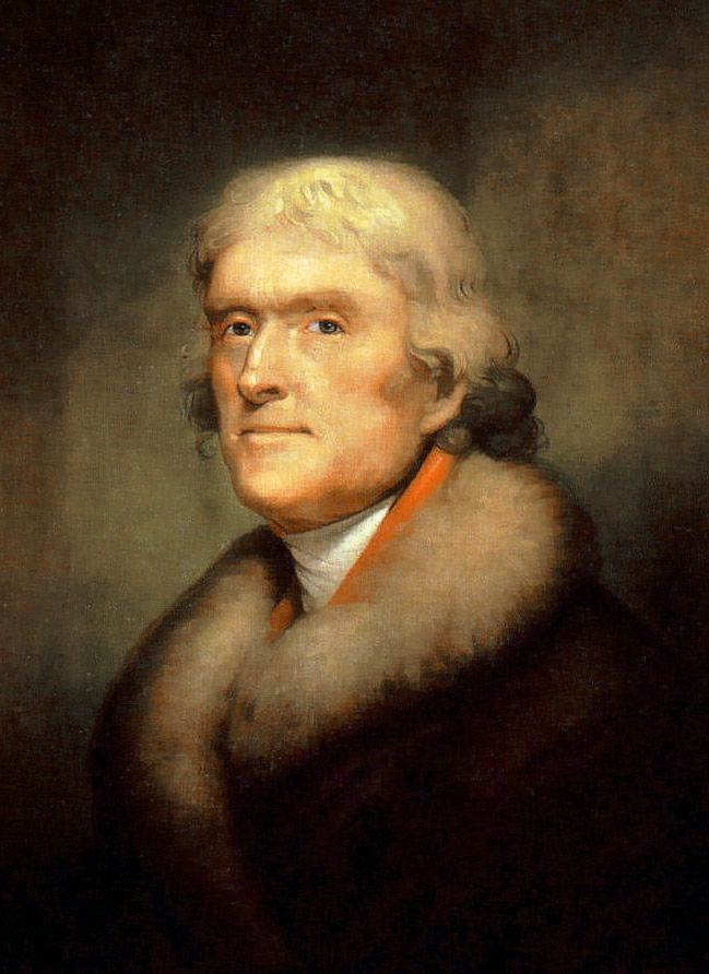 """Thomas Jefferson:  """"The time to guard against corruption and tyranny is before they shall have gotten hold of us. It is better to keep the wolf out of the fold than to trust to drawing his teeth and talons after he shall have entered."""""""