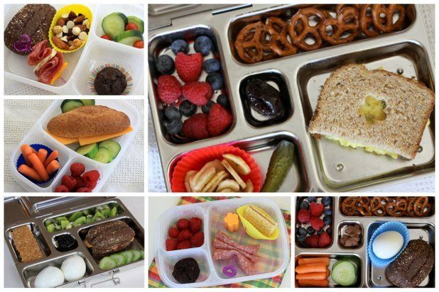 Easy school lunches made in minutes.