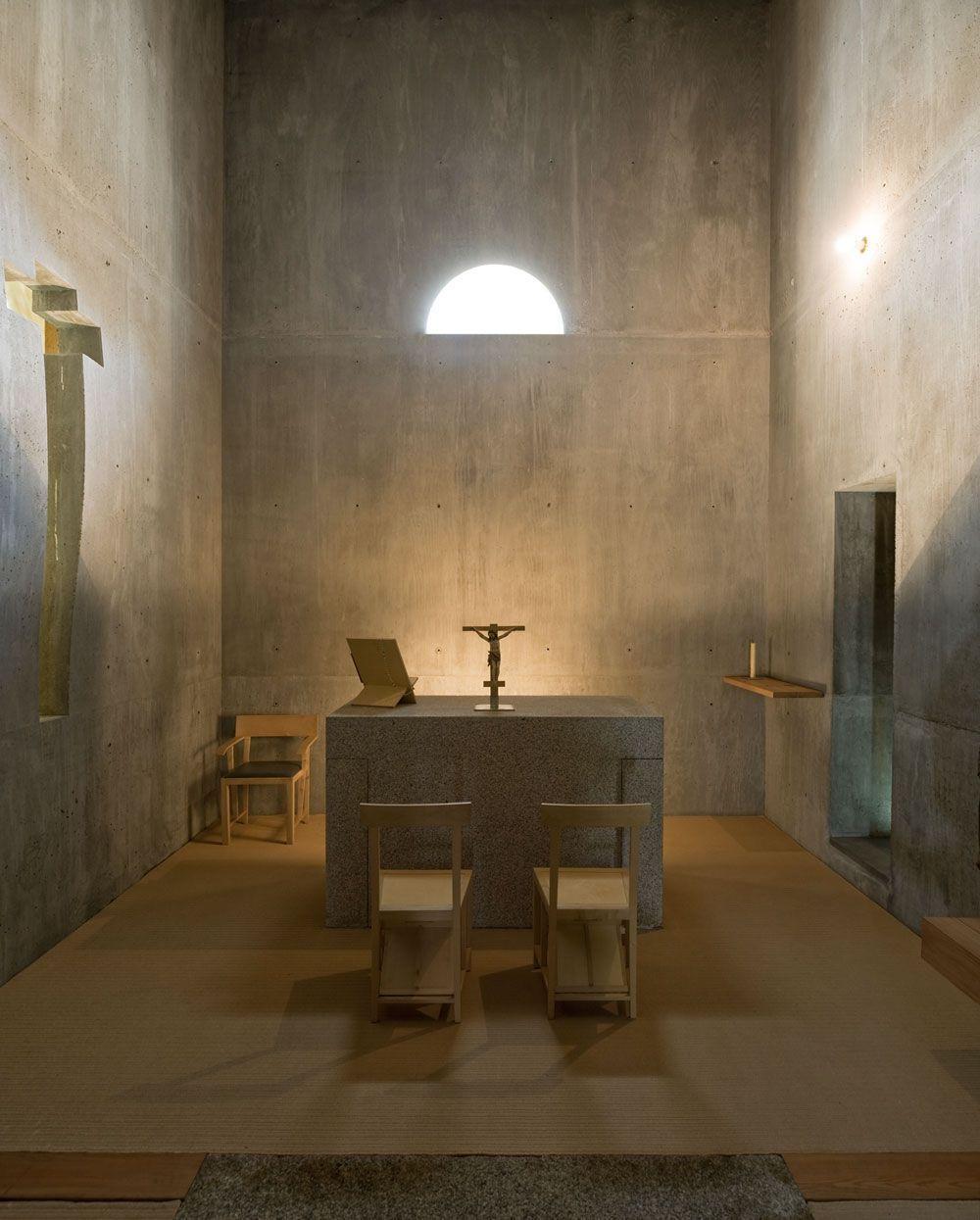 Lvaro siza quinta de santo ov dio chapel lousada 9 for Arquitectura sacro