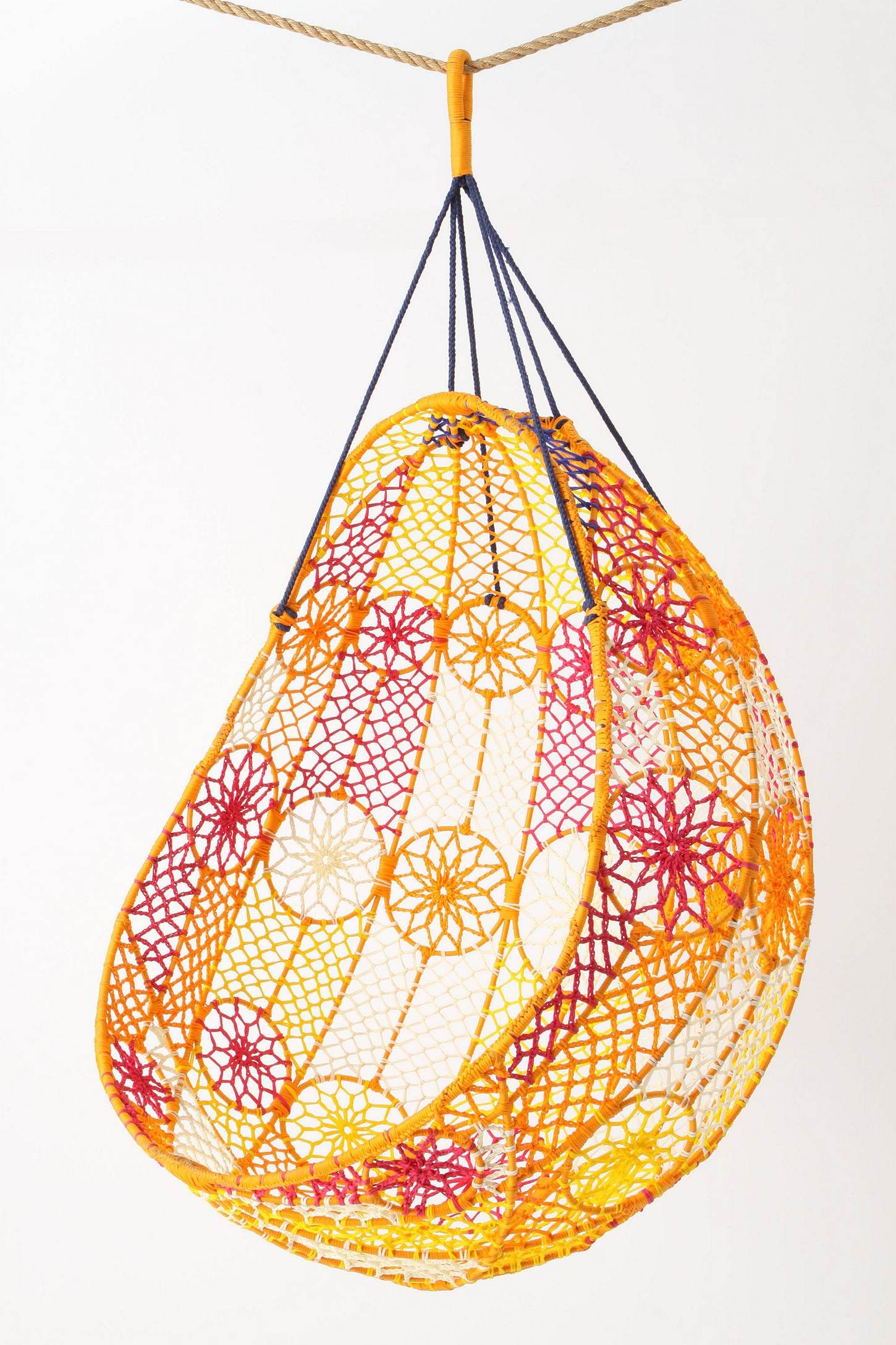 Knotted melati hanging chair how i want my house pinterest
