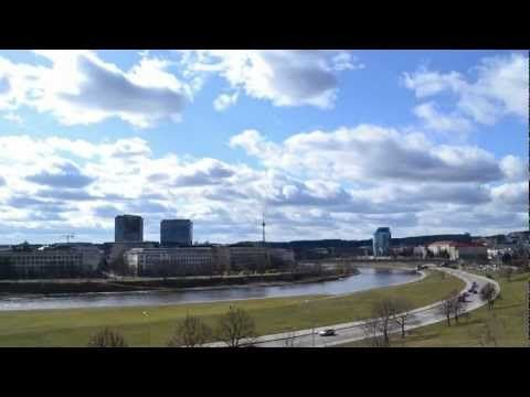 Vilnius through the timelapse. Three months of shooting. 25116 pictures