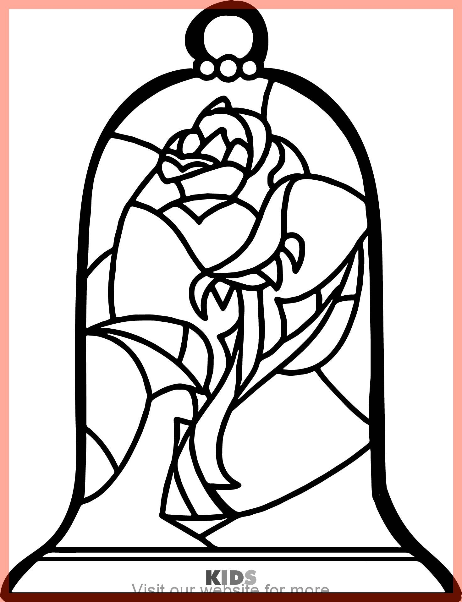 learning english for kids teaching best  Rose coloring pages
