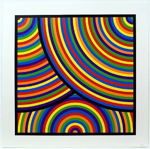 Bands of Equal Width and Colour 2, Sol LeWitt
