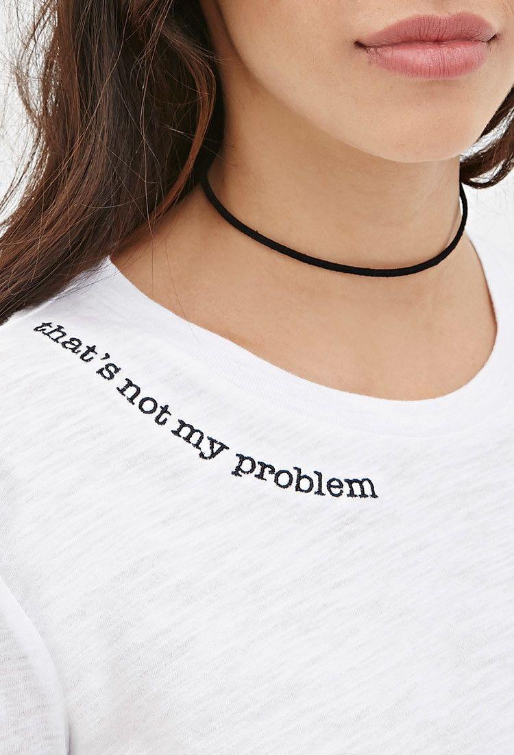 Not My Problem Tee Get custom High Quality tshirt, tank top
