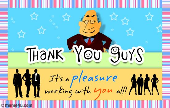 How to word Thank You Card notes to your boss – Thanks Card Words