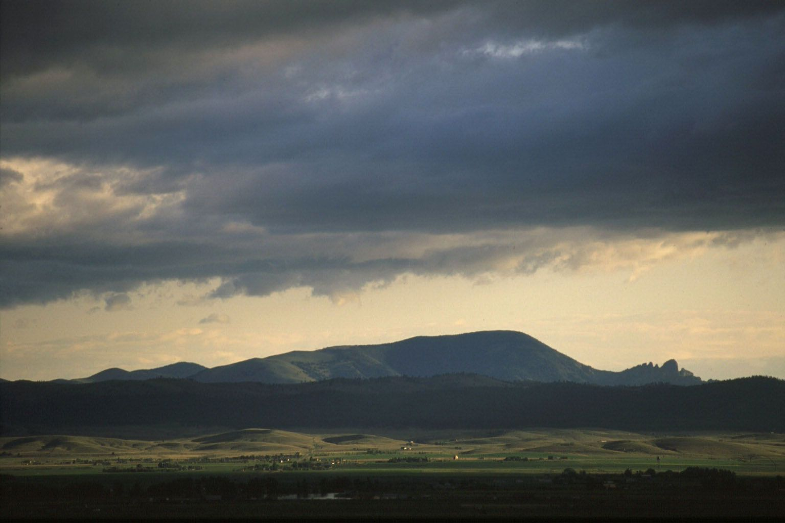 sleeping giant | Sleeping Giant from the Helena Valley