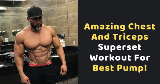 These workouts follow a superset protocol, in which you