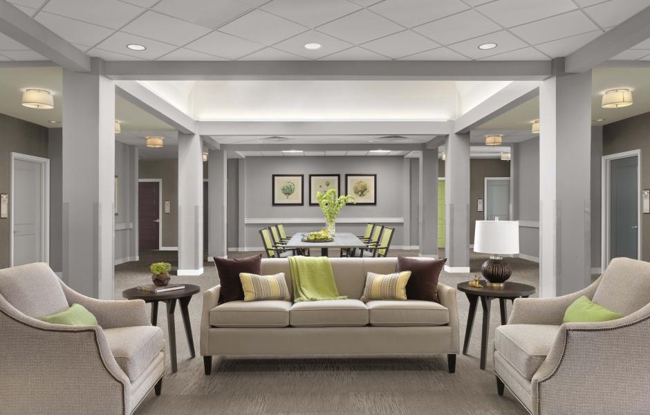 Memory Care Living Senior Living Design Interior Design Interior Design Projects