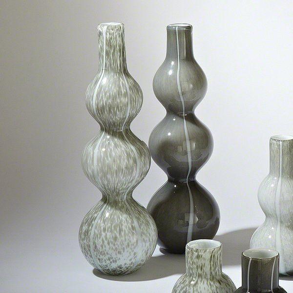 Global Views Three Bubble Vase Dark Grey Global Views 8 81697
