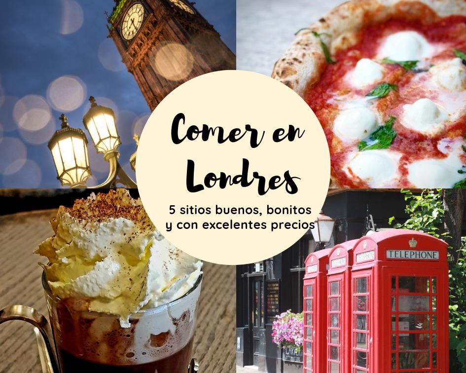 5 Sitios Dónde Comer Bueno Bonito Y Barato En Londres London In Translation Comer En Londres Hamburguesa Con Papas Londres