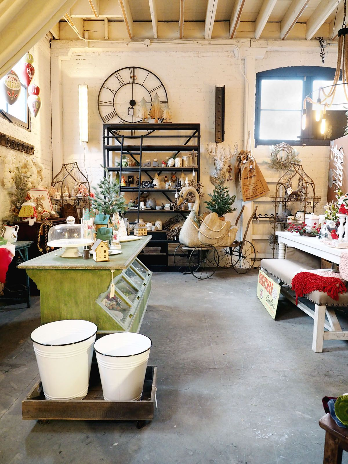 loads of vintage and antique home decor at City Home | our top five ...