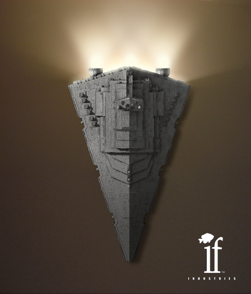 star+destroyer+wall+sconce.png (500×586)   Society: Geekness ...