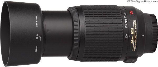 Nikon 55-200mm f/4-5.6G AF-S DX VR Lens. For more images and information on camera gear please visit us at www.The-Digital-Picture.com