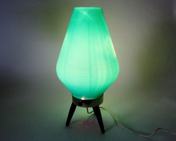 Mid Century Beehive Lamp / Danish Modern Atomic by Retroburgh