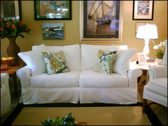 Slipcovered Furniture Manufacturers   Home Furniture Design. For The Post  Teenager/ Black Dog Phase Of Life. Thecomfortablecouch.com