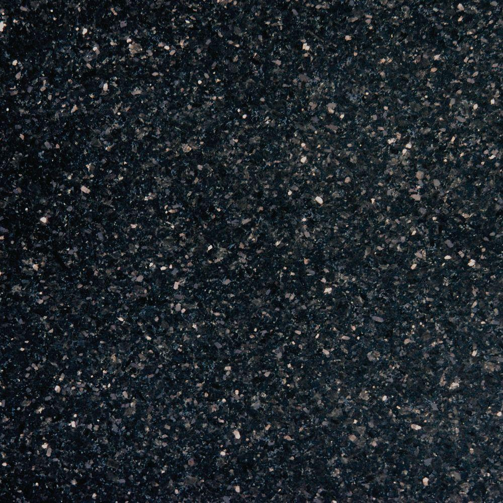 Msi Black Galaxy 12 In X 12 In Polished Granite Floor And Wall Tile 10 Sq Ft Case Tblkgxy1212 The Home Depot Granite Flooring Black Granite Tile Granite Tile