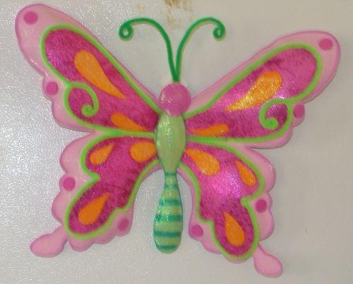 Molde de mariposas en foami imagui mariposas - Como hacer mariposas de papel ...