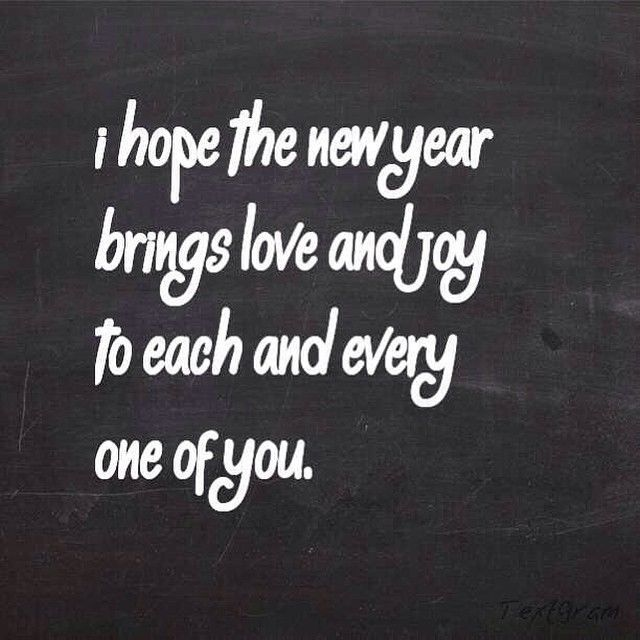 I Hope The New Year Brings You Love New Years Instagram Quotes