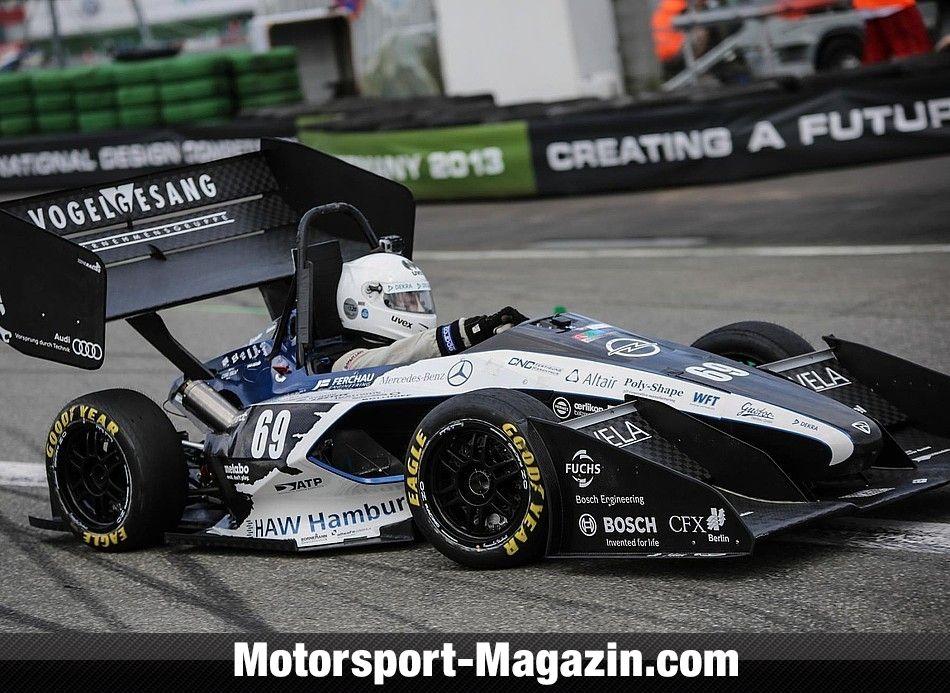 Storslått Formula Student 2013, Bild: FSG - Hirvonen | SPEEDCAR | Racing car EN-65
