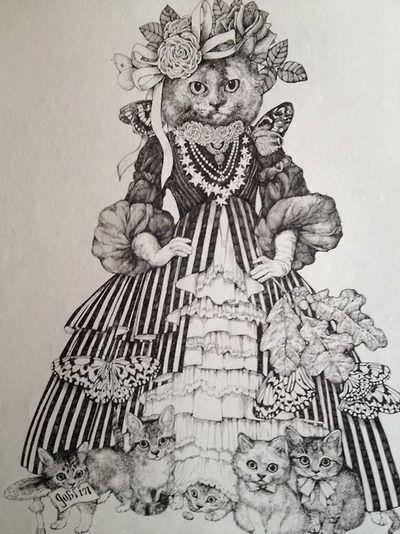 Yuko higuchi victorian cat