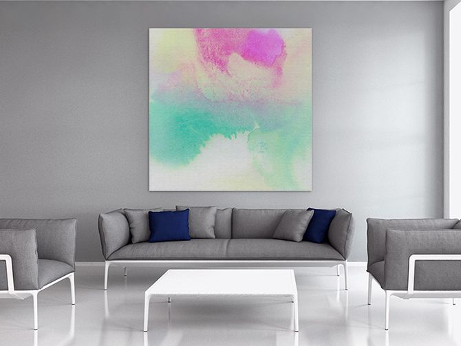 Interior design blogs abstract pastel